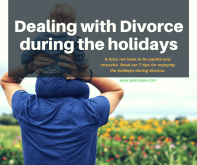 Dealing with divorce during holidays; Houston family lawyer
